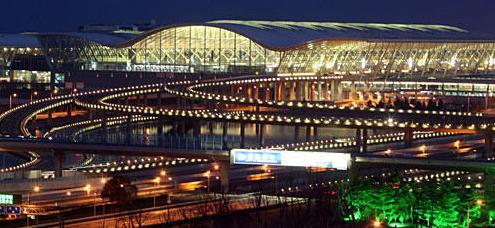 上海浦东机场,哈尔滨会展中心